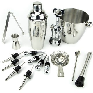 Link to 16 Piece-Stainless Steel Bar Set Similar Items in Glasses & Barware