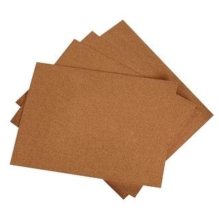 Hygloss Cork Sheet, 8-1/2 X 11 X 1/16 in, Pack of 12