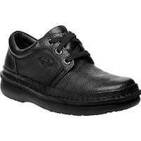 Propet Men's Village Walker Black Grain