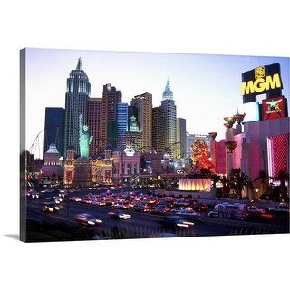 """Las Vegas, Nevada"" Canvas Wall Art"