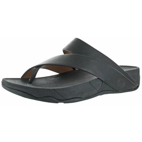 FitFlop Sling Men's Criss Cross Strap Slide Sandals