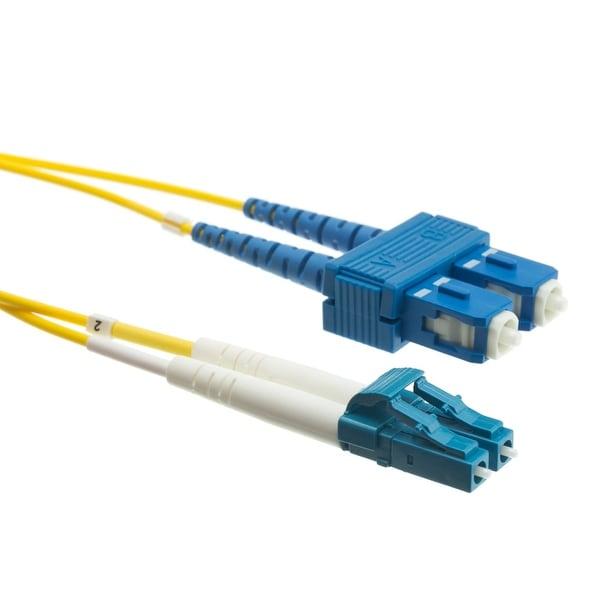 Offex Fiber Optic Cable, LC / SC, Singlemode, Duplex, 9/125, 10 meter (33 foot)