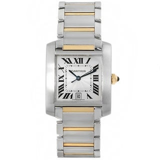 Link to Cartier Men's Tank White Watch - W51005Q4 - One Size Similar Items in Men's Watches