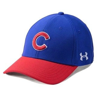 a9dbf7a4 Shop Under Armour UA Men's Chicago Cubs MLB Adjustable Blitzing Baseball  Cap - Free Shipping On Orders Over $45 - Overstock - 19683572