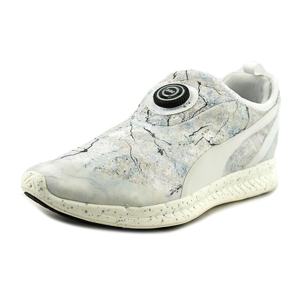 3c6574ad4ef Puma Disc Sleeve Ignite Roxx Men Round Toe Synthetic White Running Shoe