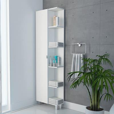 TUHOME Urano Bathroom Cabinet / Linen Cabinet - N/A