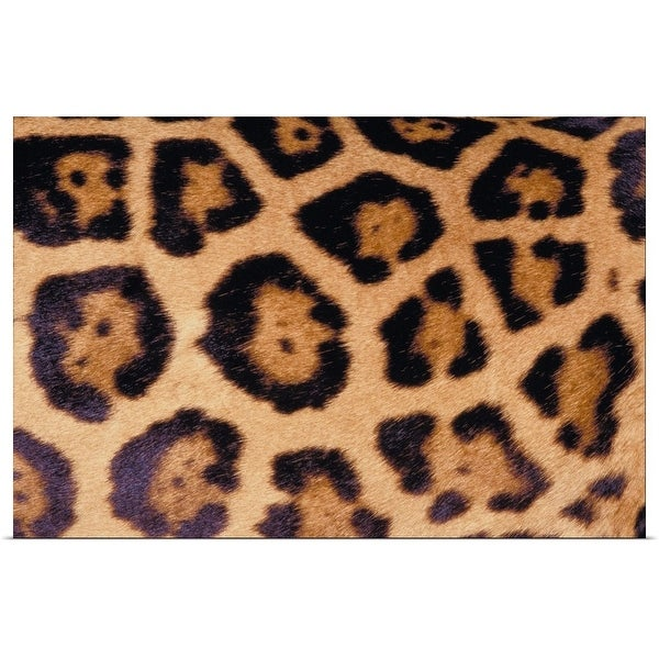 """Close up of Jaguar fur"" Poster Print"