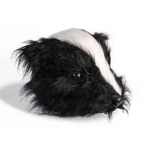 Scary Skunk Costume Mask - Black