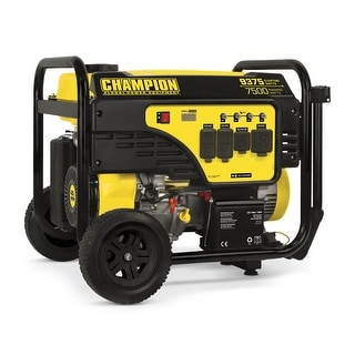 Link to Champion 7500-Watt Portable Generator with Electric Start Similar Items in Generators