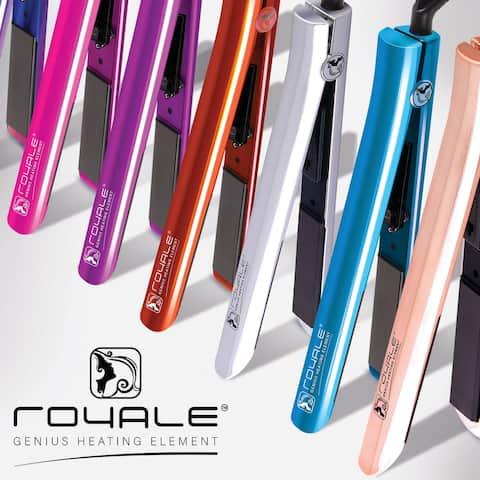 "StyleHair Flat Iron - Hair Straightener and Curler 1.25"" Ceramic Plates - 6'6"" x 9'5"""