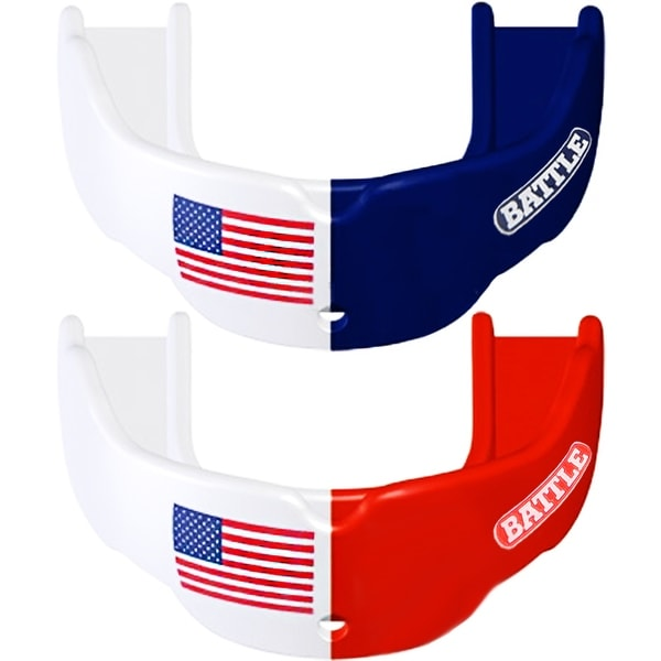 Shop Battle Sports Mouthguard 2 Pack Adult American