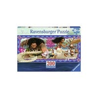 Moana's Adventure 200 Piece Ravensburger Panorama Puzzle