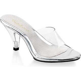 Fabulicious Women's Belle 301 Clear/Clear