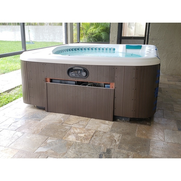 Kit Jacuzzi.Shop Highwood Eco Friendly Hot Tub Spa Cabinet Replacement