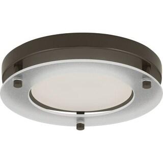 "Progress Lighting P8147-LED LED Flush Mount Light 7-1/4"" Wide Integrated LED Flush Mount Ceiling Fix"