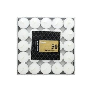 Darice Tealights Unscented 50pc