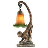 Design Toscano  Monkey Business Sculptural Table Lamp