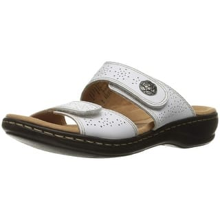 f80f8a1b333 Buy White Clarks Women s Sandals Online at Overstock