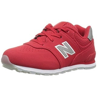 New Balance Boys 574V1 Fashion Sneakers Signature Leather