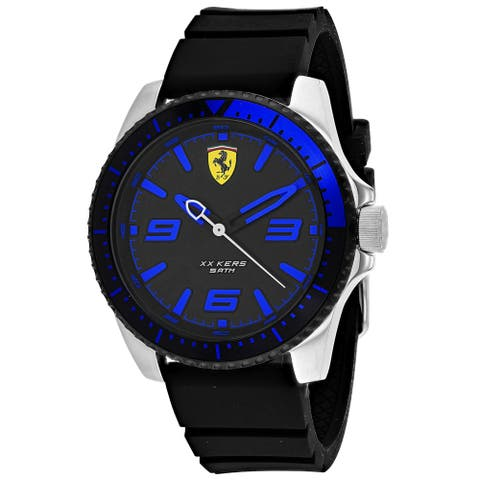 Ferrari Men's XX Kers Black Dial Watch - 830466 - One Size