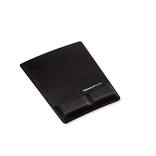 Fellowes 9181201 Memory Foam Wrist Support With Attached Mouse Pad