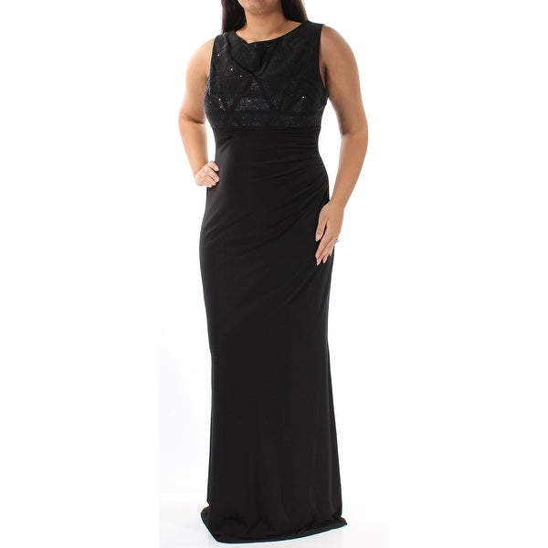 c2b1ae5287 Shop Womens Black Sleeveless Full Length Empire Waist Formal Dress Size  12  - Free Shipping On Orders Over  45 - Overstock - 21683363