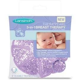 Lansinoh Thera Pearl 3-in-1 Breast Therapy 2 Each