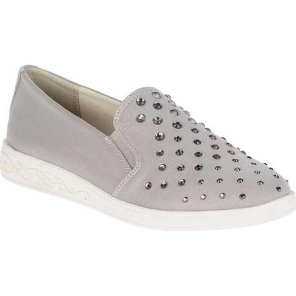 Shop Soft Style Women's Pran Slip On Sneaker Light Grey