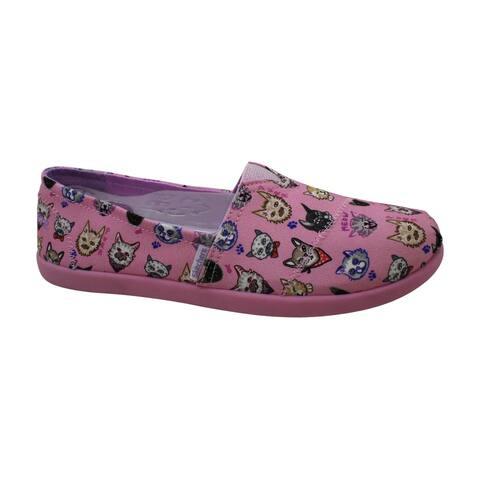Skechers Bobs Solestice 2.0 Girls' Toddler-Youth Slip On 6 M US Big Kid Pink - 6.0