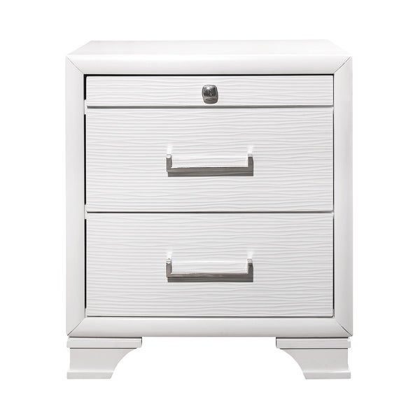Global Furniture USA Jordyn Textured Nightstand. Opens flyout.