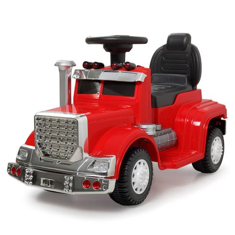 "Best Ride On Cars Mini 3 in 1 Push Car Red - 7'6"" x 9'6"""