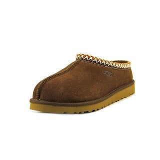 Ugg Australia Tasman Youth Round Toe Suede Brown Slipper