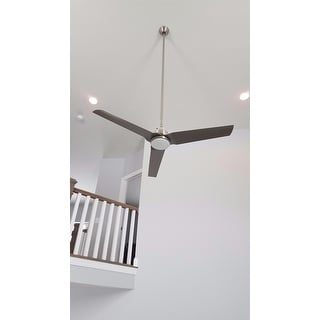 """MinkaAire Java LED Java LED 54"""" 3 Blade Indoor / Outdoor Ceiling Fan with Blades and Integrated Light Included"""