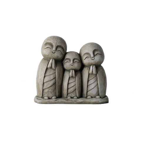 Praying Family- Aged Moss