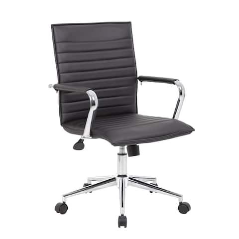 Boss Vinyl Hospitality Chair