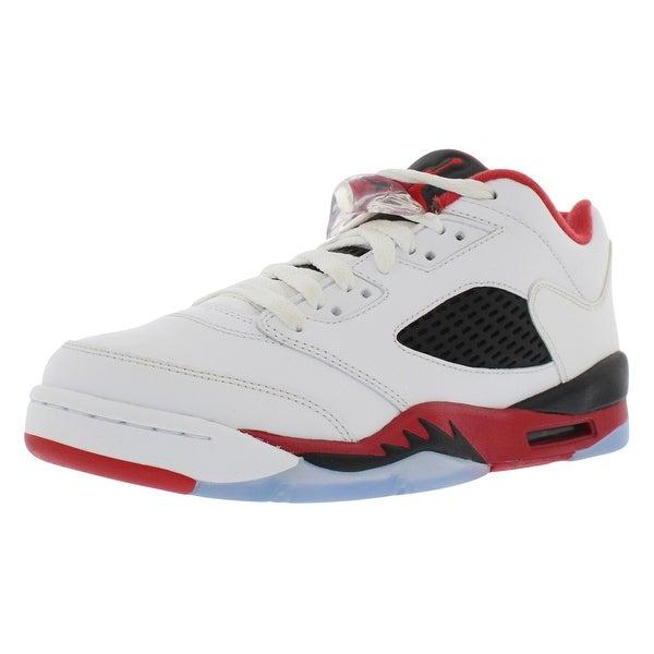 the latest fef9e 012c3 Shop Jordan Retro 5 Low Basketball Gradeschool Boy's Shoes ...