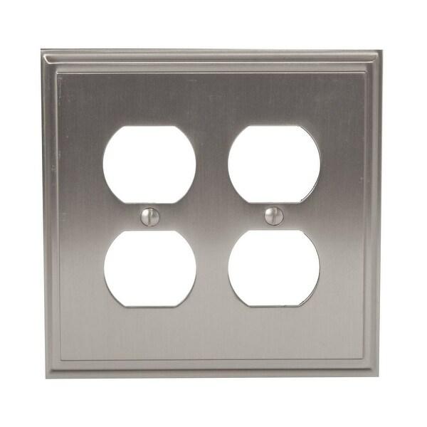 Shop Amerock 1906967 Mulholland Quadruple Outlet Switch Plate
