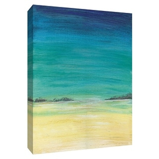 """PTM Images 9-148437  PTM Canvas Collection 10"""" x 8"""" - """"Tropics I"""" Giclee Nautical and Ocean Art Print on Canvas"""