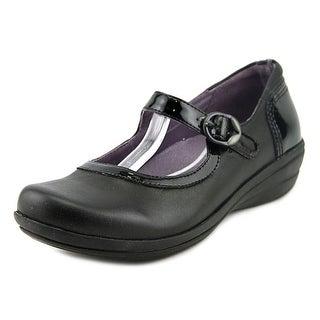 Dansko Misty Nappa Women Round Toe Leather Black Mary Janes