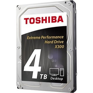 Toshiba 4 TB Desk 3.5 Inch Internal Hard Drive HDWE140XZSTA 4 TB Desk 3.5 Inch Internal Hard Drive