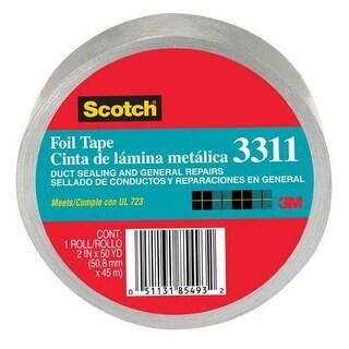 """Scotch 3311-50A Foil Tape, 2"""" x 50 Yard"""