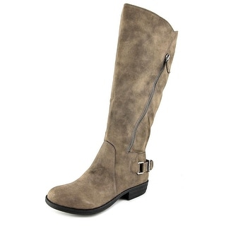 American Rag Asher Wide Calf Women Round Toe Synthetic Gray Knee High Boot