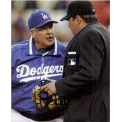 Signed Little Grady Los Angeles Dodgers 8x10 autographed
