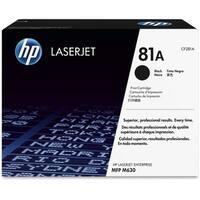 HP 81A Black Original LaserJet Toner Cartridge (CF281A)(Single Pack)