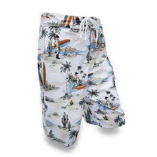 Southwestern Beach Scene Board Shorts