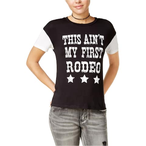 Rebellious One Womens Western Graphic T-Shirt