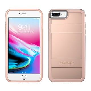 Pelican Cell Phone Case for Apple iPhone 8 Plus & iPhone 6/6s/7 - Rose Gold