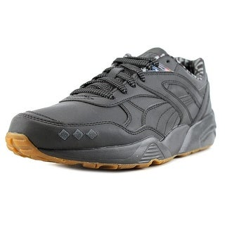 Puma x Alife R698 Men Round Toe Leather Black Sneakers