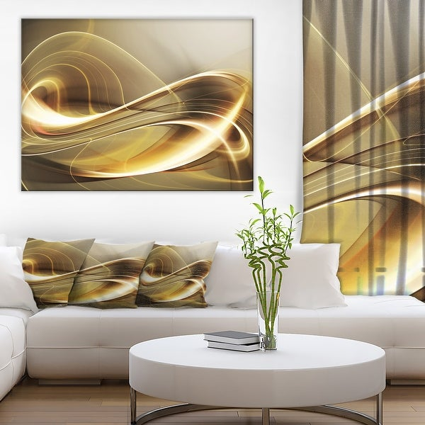 Designart - Elegant Modern Sofa - Abstract Digital Canvas Print. Opens flyout.