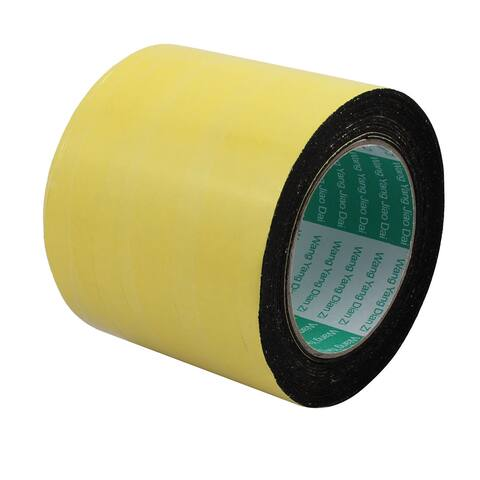 100mm Width 1mm Thickness Single Side Shockproof Sponge Foam Tape 5m Length
